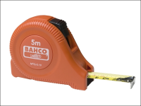 Bahco MTG Orange Plastic Tape 5m/16ft (Width 19mm)