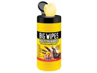 Big Wipes Black Top Multi-Purpose Wipes Tub of 80