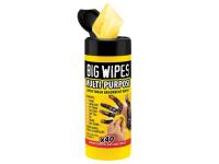 Big Wipes Black Top Multi-Purpose Wipes Tub of 40