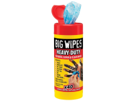 Big Wipes Red Top Heavy-Duty Wipes Tub of 40