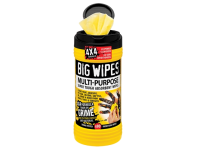Big Wipes Black Top 4x4 Multi-Purpose Hand Cleaners CDU 16 x Tubs of 80