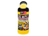 Big Wipes Black Top 4x4 Multi-Purpose Hand Cleaners Tub of 120