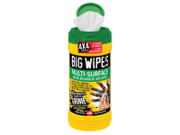 Big Wipes Green Top 4x4 Multi Surface Cleaner Tub of 80