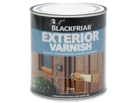 Blackfriar Exterior Varnish UV77 Clear Satin 250ml