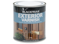 Blackfriar Exterior Varnish UV77 Clear Satin 500ml