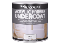 Blackfriar Quick Drying Acrylic Primer Undercoat Grey 1 Litre