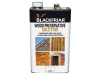 Blackfriar Wood Preservative Gold Star Clear 5 Litre