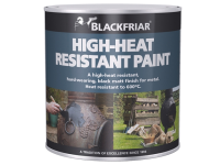Blackfriar Heat Resistant Paint Black 500ml