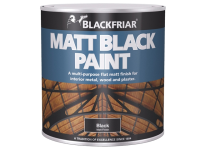 Blackfriar Matt Black Paint 125ml