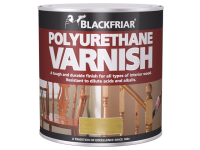 Blackfriar Polyurethane Varnish P100 Clear Satin 250ml