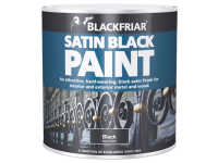 Blackfriar Satin Black Paint 125ml