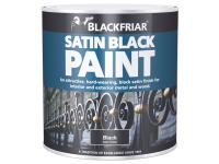 Blackfriar Satin Black Paint 250ml