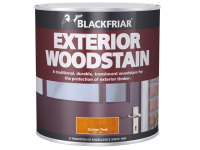 Blackfriar Traditional Exterior Woodstain Ebony 1 Litre