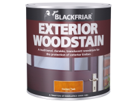 Blackfriar Traditional Exterior Woodstain Ebony 500ml