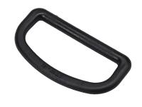 Bi Metal Military Grade Plastic Belt D Ring 2in