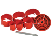 BOA Tungsten Carbide Holesaw Kit Set of 6