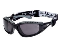Bollé Safety Tracker Safety Glasses Vented Smoke