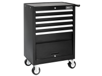 Britool Roller Cabinet 5 Drawer + Compartment - Black