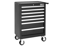 Britool Roller Cabinet 7 Drawer - Black