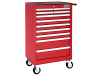 Britool Roller Cabinet 11 Drawer - Red