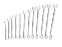 Britool Long Series Combination Spanner Set of 12 Metric 8 to 19mm