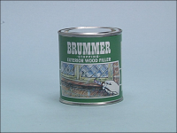 Brummer Green Label Exterior Stopping Medium Light Oak