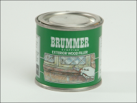 Brummer Green Label Exterior Stopping Small Light Walnut