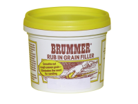 Brummer Rub-In Grain Filler Medium Oak 300g