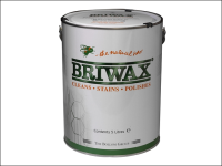 Briwax Wax Polish Original Antique Brown 5 Litre
