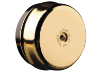 Byron 1200 Wired Underdome Bell in Brass