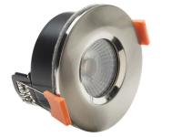 Byron LED Fire Rated Anti-Glare Downlight 3.8W Satin Nickel