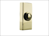 Byron 2204 Wired Bell Push Brass