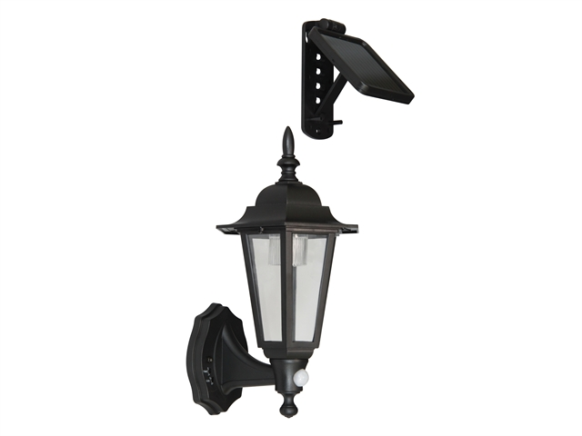 Byron London LED Solar Coach Light + PIR