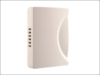 Byron 779 Wired Wall Mounted Chime in White 150mm