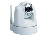 Byron Indoor Plug & Play WiFi Pan/Tilt Camera