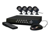 Byron DVR500 CCTV 4 Colour Cameras & 500GB DVR Set