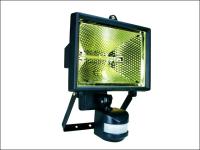 Byron ES400 Halogen Floodlight with Motion Detector Black 400 Watt
