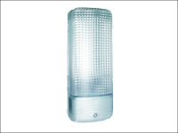 Byron ES81A Plastic Security Light with Motion Detector Chrome