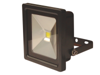 Byron FL1-C10-B Slimline COB LED Floodlight 10 Watt 700 Lumen