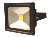 Byron FL1-C20-B Slimline COB LED Floodlight 20 Watt 1500 Lumen
