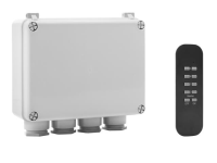 Byron Outdoor 3-Way Switch Box & Remote
