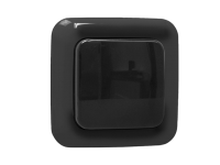 Byron Home Easy Outdoor Remote Control 1G Single Switch Black