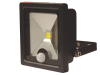 Byron SL1-C10-B Slimline COB LED Security Floodlight 10 Watt 700 Lumen