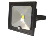 Byron SL1-C50-B Slimline COB LED Floodlight 50 Watt 3600 Lumen