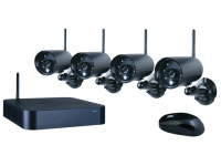 Byron WDVR740S Wireless DVR Set With 4 Cameras & DVR