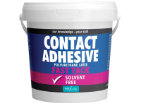 Polyvine Contact Adhesive Solvent Free Fast Tack 1 Litre
