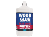 Polyvine Polyten Fast Grab Wood Adhesive 5 Litre