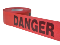 C H Hanson Tape - Danger Red  305m (1000ft)