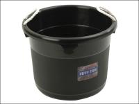 Curver Tuff Tub - Black 39 Litre