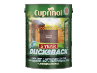 Cuprinol Ducksback 5 Year Waterproof for Sheds & Fences Harvest Brown 5 Litre